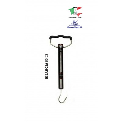 sure catch - 50 lb spring scale