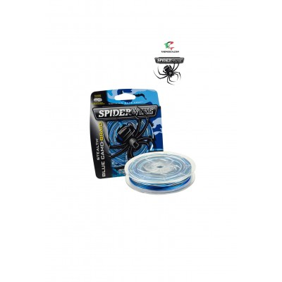Spiderwire Stealth Blue Camo 137 mt