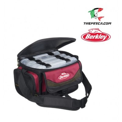Bag 4 Boxes Red-Black Berkley