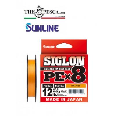 SUNLINE SIGLON PE X8 ORANGE 150 METRI