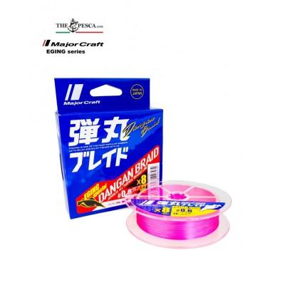 Major Craft Dangan Braid (Eging Special) 150 Mt 8x Pink